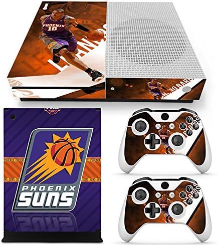FriendlyTomato Xbox One S Consola y mando inalámbrico Skin Set – Baloncesto NBA – XboxOne S Vinilo: Amazon.es: Videojuegos