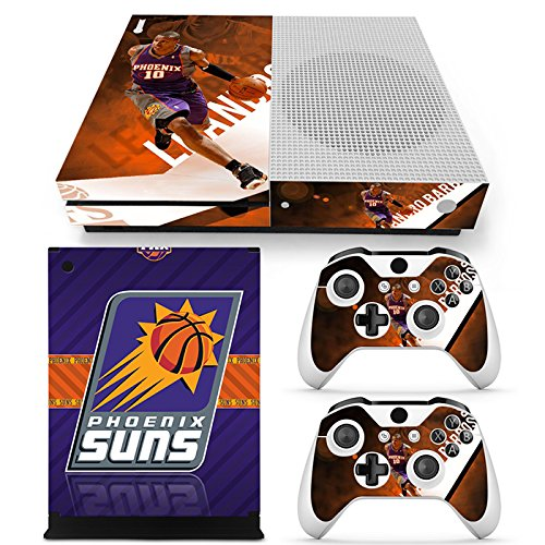 GoldenDeal Xbox One S Console and Wireless Controller Skin Set - Basketball NBA - XboxOne S Vinyl