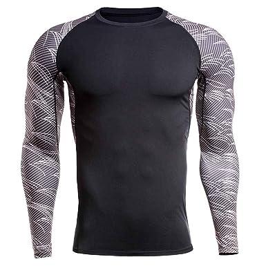Camisetas de Yoga de Secado Rápido para Hombre de Secado ...
