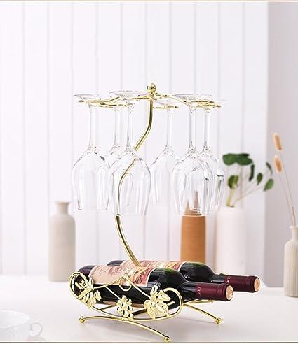 Amazon Com He Yan Long Home Red Wine Rack Decoration Retro Wrought