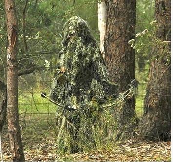 U y diseño de camuflaje we 3D Yowie Bionic de camuflaje sobredosis de entrenamiento traje de arco y flecha para caza: Amazon.es: Jardín
