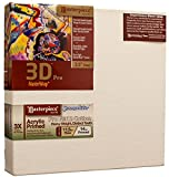 Masterpiece Artist Canvas DS-84100 3D Pro 2-1/2'' Deep, 84'' x 100'', Cotton 14.0oz - 3X - Sausalito Heavy Weight