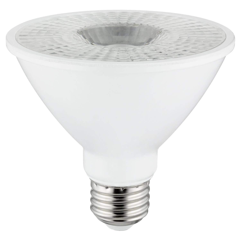 75 Watt Equivalent 24 Pack Sunlite LED PAR30S Spotlight Bulb Base 5000K Super White Dimmable 750 Lumens Medium Indoor Use 10 Watt E26 Energy Star Certified