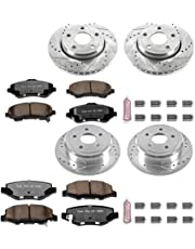 shop amazon brake system  power stop k2798 36 front rear z36 truck and tow brake kit