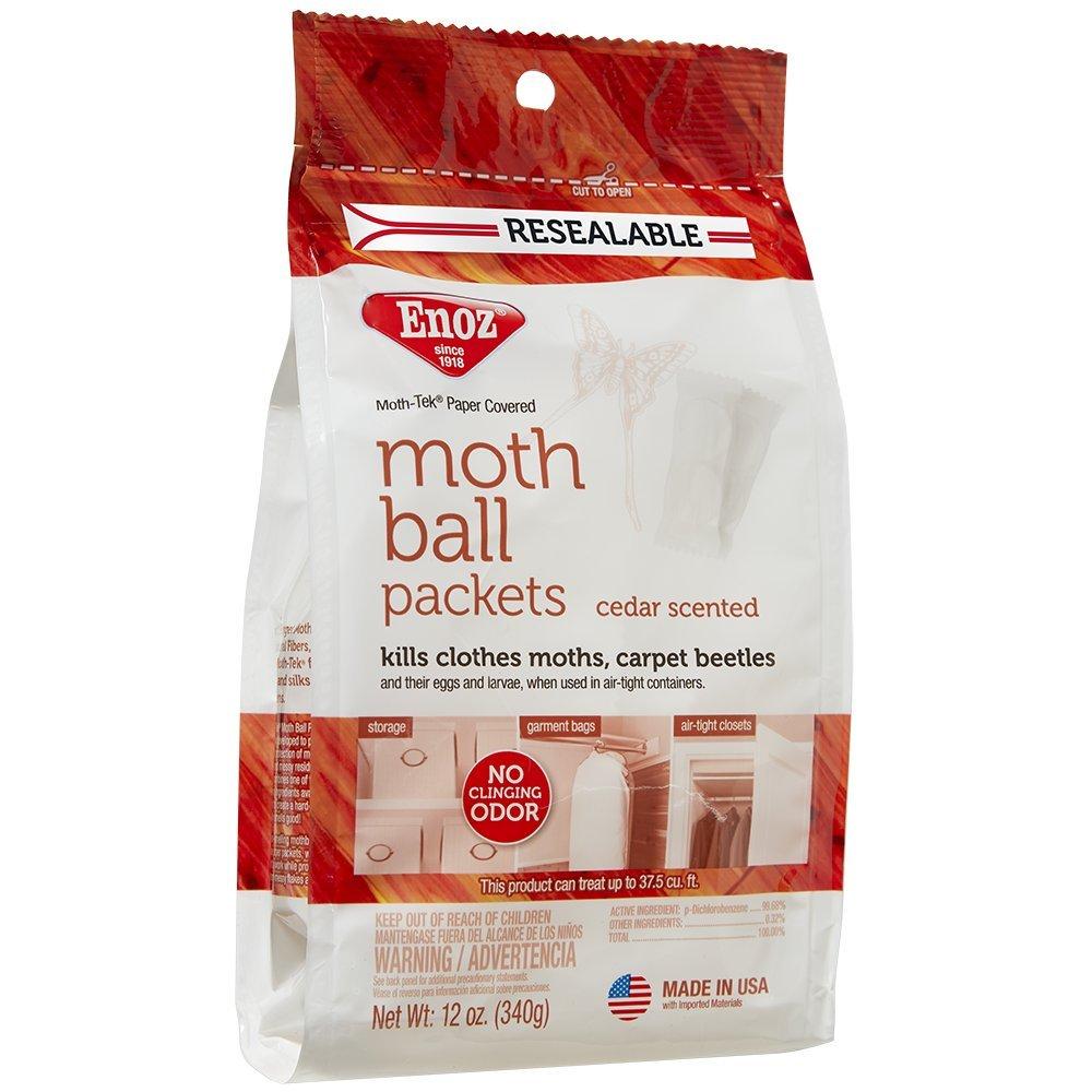 Enoz Moth-Tek Packets Cedar Scent - 12 oz. Bag (3)
