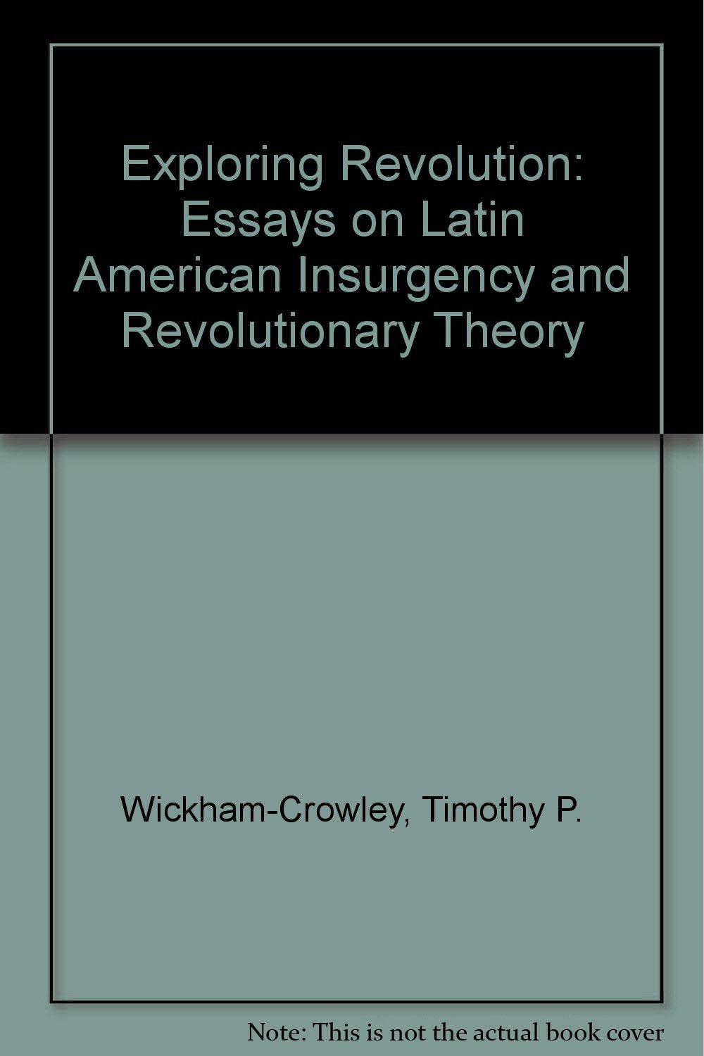 exploring revolution essays on latin american insurgency and revolutionary theory