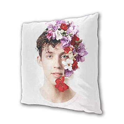 "Troye Sivan Outdoor/Indoor Cushions 18.5""x 18.5"", 2 Pieces: Kitchen & Dining"