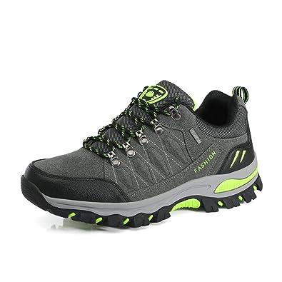 Herren Damen Trekking Winterschuhe Warm Gefüttert Winter Wanderschuhe Wasserdicht Boots Schneestiefel Plateau Sneakers zDkMR