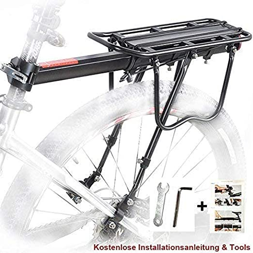 Nano WIA Bicicleta Portaequipajes para Bicicletas Portaequipajes ...