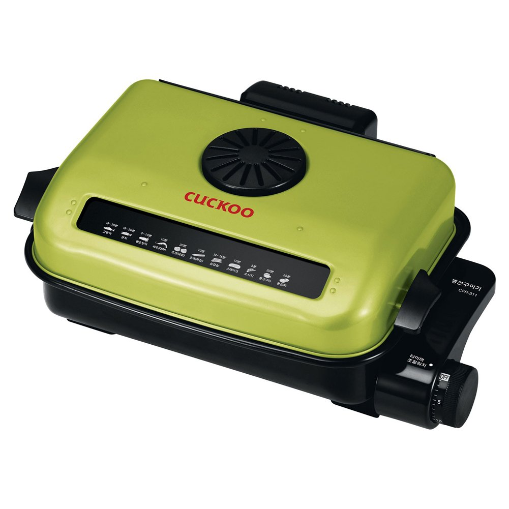 CUCKOO CFR-311 Electric Multi Roaster Electric Fish Grill Heating Non-stick Barbecue Cooking 220V