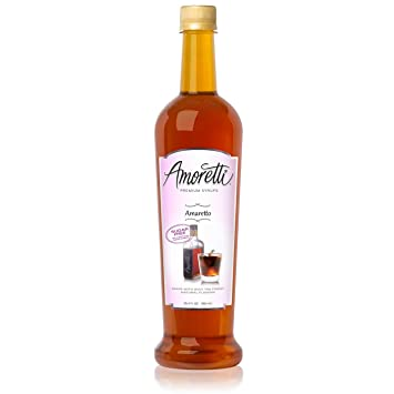 Amoretti Premium Sugar Free Flavoring, Amaretto, 25.4 Ounce
