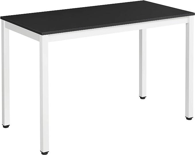 mobilier de camping salon chambre /à coucher bureau d/étude pour petit espace table de travail blanc portable 120 x 60 cm Jeffordoutlet Bureau dordinateur pliant