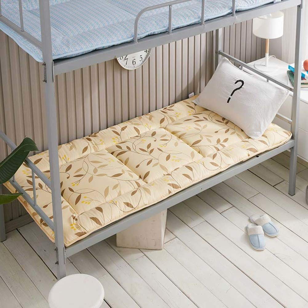 H 90x195cm(35x77inch) Soft Breathable Mattress Topper,Thick Non-Slip Mattress Single Double Tatami Floor mat Portable Foldable Student Dormitory Mattress-G 150x195cm(59x77inch)