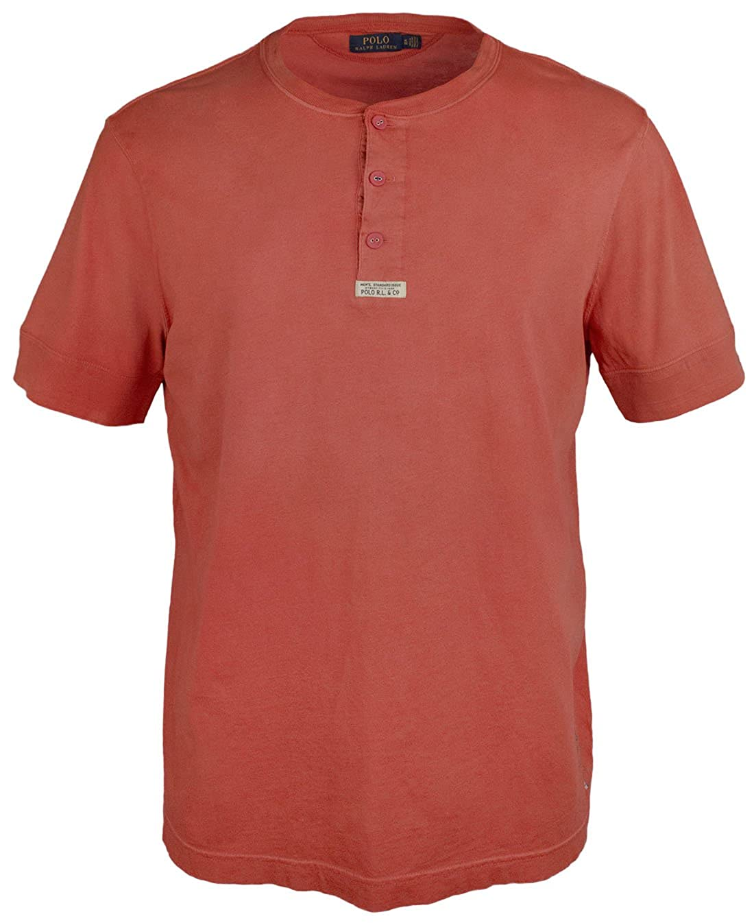 Ralph And Big Tall Cotton Shirt Men's Henley Lauren Polo Jersey MpzSUV