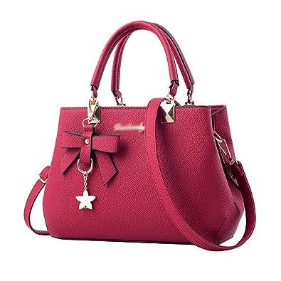 978d774a39ada YAANCUN Damen Handtaschen Groß Taschen Leder Moderne Handtasche Gross  Schultertasche Frauen Umhängetasche