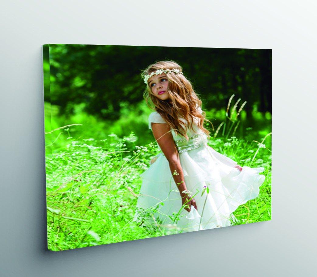 Stampa personalizzata su tela, montato su telaio di legno 3cm, formato 13x 18. Diverse Misure, 40x 30cm, 40_ x _ 30_ cm CREATIVA DIGITAL