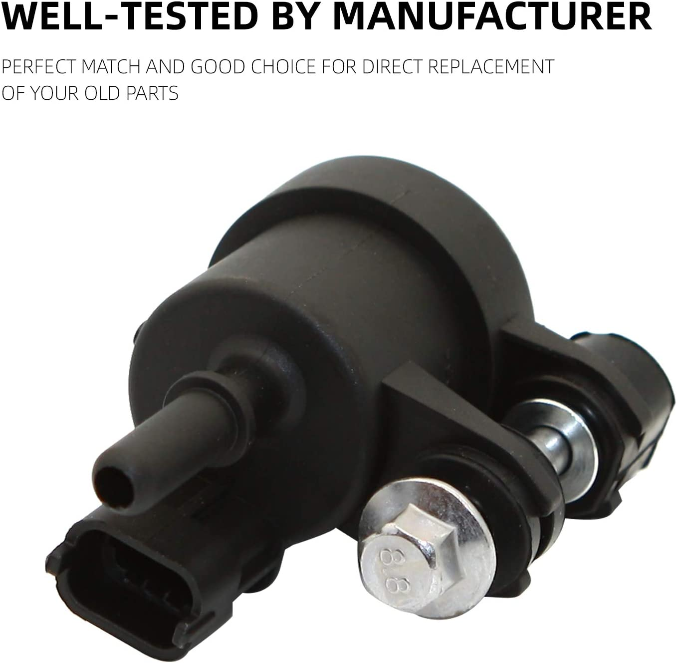 12610560 Vapor Canister Purge Valve Solenoid Fits For GMC Acadia Terrain Chevy Impala Traverse Cadillac SRX Buick Enclave Replaces 911-082 214-2137 by Sikawai