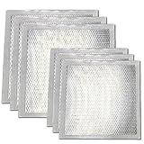 Wal-Board 8'' x 8'' Drywall Repair Patch - Adhesive Mesh and Aluminum (Combo 6-Pack (6'' & 8''))