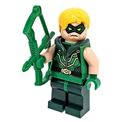 LEGO DC Comics Justice League Super Heroes Minifigure - Green Arrow with Bow: Toys & Games