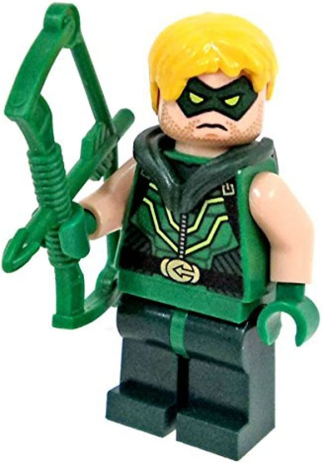 LEGO DC Comics Justice League Super Heroes Minifigure - Green Arrow with Bow