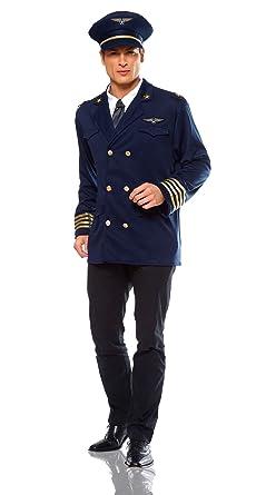d6d6a0675 Costume Culture Men's Pilot Costume Extra Large, Blue, X-Large