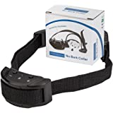 TINDERALA Dog Training Collar, Dog Shock Collar with 7 Sensitivity Levels, Automatically Stop Adjustable Anti Bark Collars, Vibrating & Safety E-Collar with Beep for Dogs and Cats