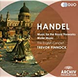 Haendel : Music for the Royal Fireworks - Water Music (Coffret 2 CD)