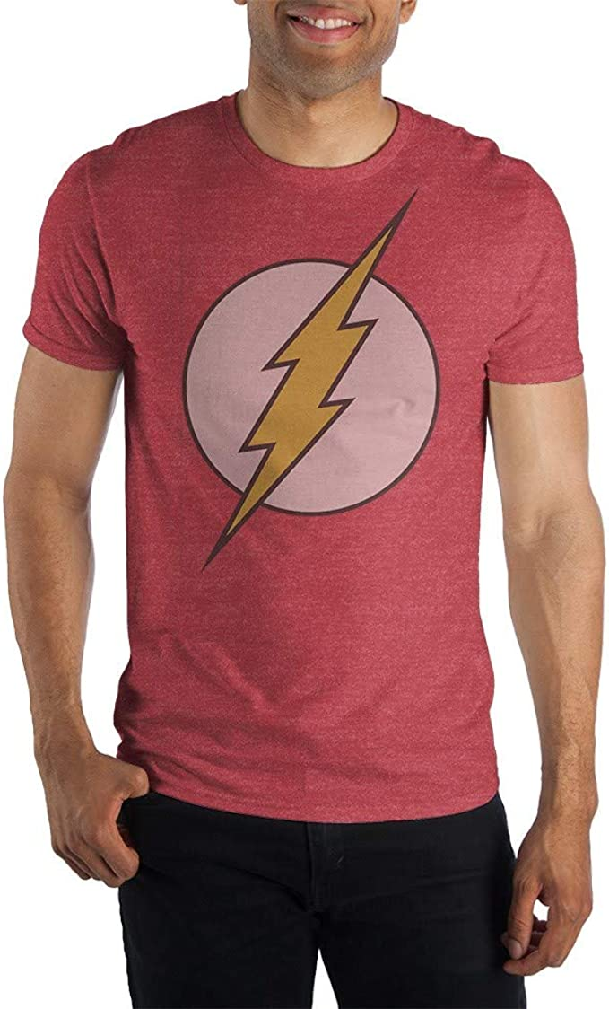 The Flash T-Shirt Lot 2 New Men/'s Small DC Comics Red 100/% Cotton