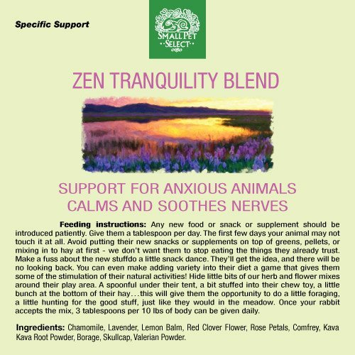 Small Pet Select - Zen Tranquility Herbal Blend