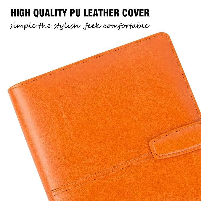 Amazon.com: Grope Business cuaderno de piel, la cubierta ...