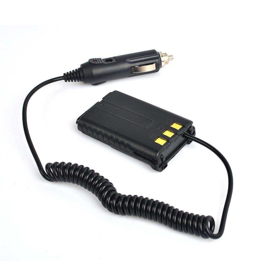 UV-5RA UV-5RA Battery Eliminator Car Charger for Baofeng Dual Band FM Transceiver Radio UV-5R UV-5R UV-5RB UV-5RC UV-5RD UV-5RE UV-5RE Plus Walkie Talkie QUANZHOU TRUEST COMUNICATON CO LIMITED