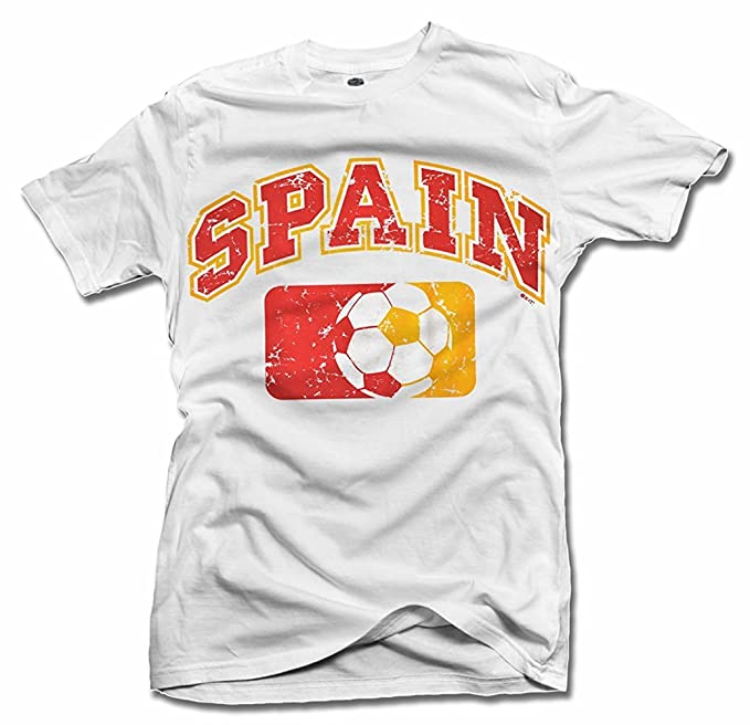 Major League España futbol camiseta hombres de la T (6.1oz) - Blanco -
