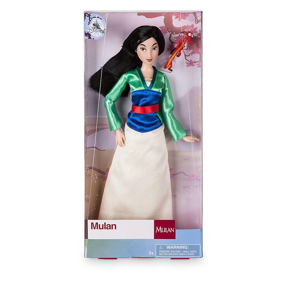 Disney Mulan Classic Doll with Mushu Figure 11 1//2 Inch 460013897651