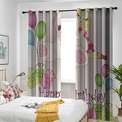 Amazon.com: Window Curtain Fabric Sun Visor in Bedroom ...