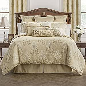 Amazon Com Waterford Copeland 5pc Queen Comforter Bundle