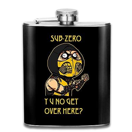 Ninja Meme Sub Zero Mortal Kombat - Petaca de bolsillo ...