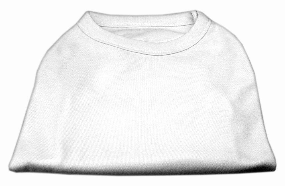 Dog   Cat   Pet Charms Plain Shirts White XXL (18)
