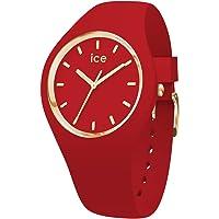 Ice-Watch - ICE glam colour Red - Montre rouge pour femme avec bracelet en silicone - 016263 (Small)