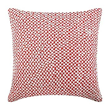 Amazon.com: Almohadas de coral Cover, ganchillo funda de ...