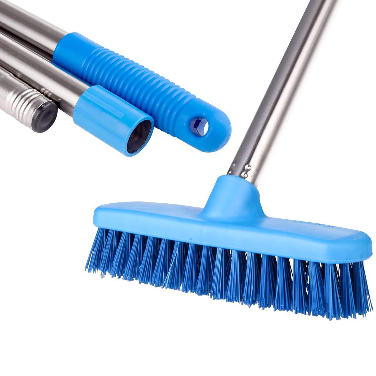 10 Weiler 44028 Deck Scrub Brush White Tampico Fill