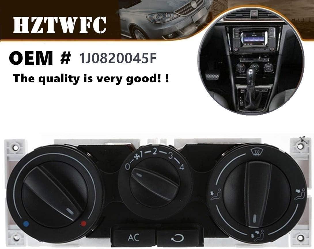 HZTWFC Commutateur de panneau de commande dair et de chauffage AC OEM # 1J0820045F