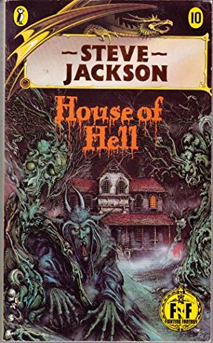 Fighting Fantasy 10 House Of Hell (Puffin Adventure Gamebooks)