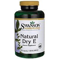 Swanson Natural Dry Vitamin E 400 Iu (180.2 Milligrams) 250 Capsules