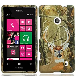 Hunter Hard Case Cover for Nokia Lumia 521 + Accessory Kit