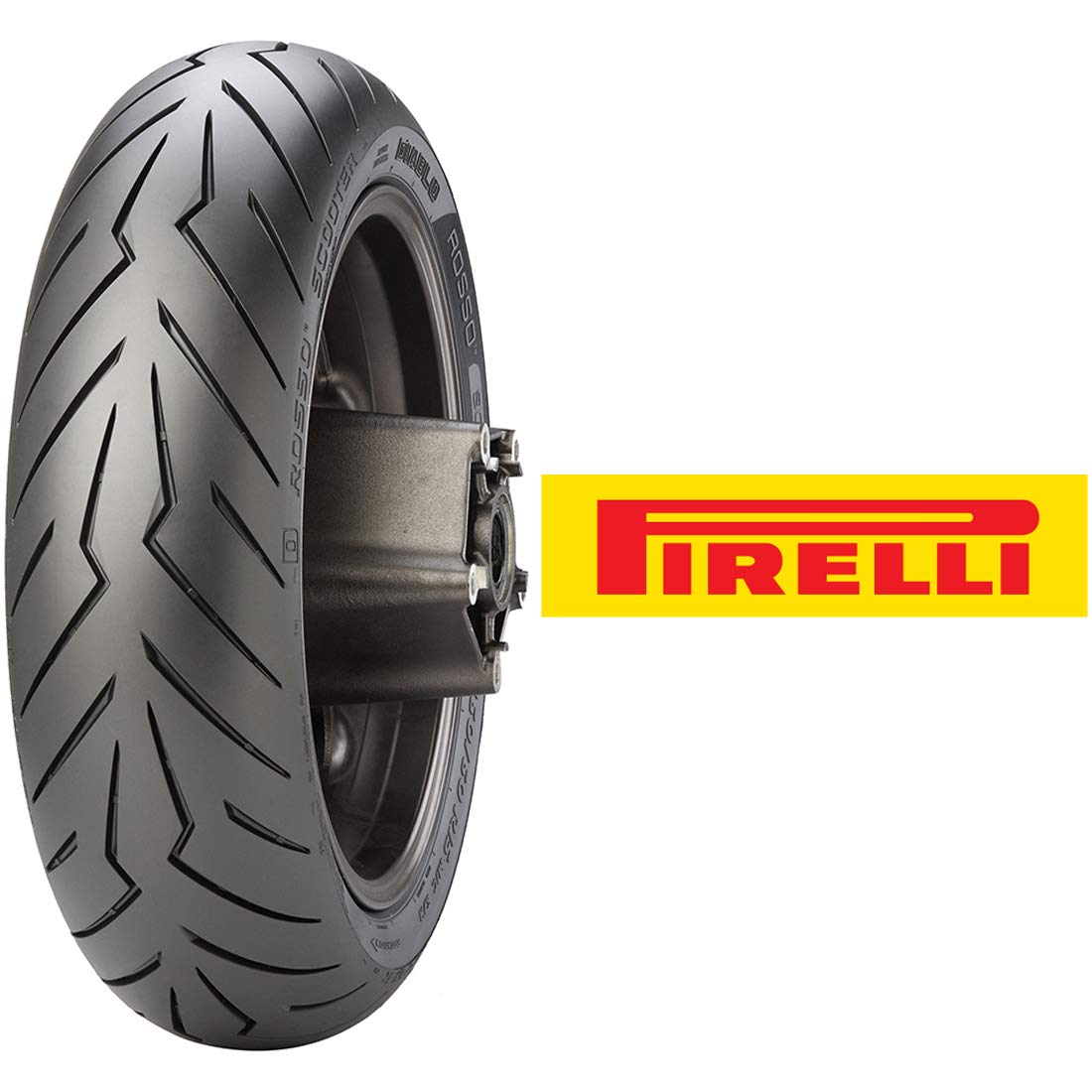 Pirelli Diablo Rosso Rear Scooter Tire (150/70-13) by Pirelli