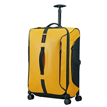 SAMSONITE Paradiver Light - Spinner Duffle Bag 67/24 Bolsa de Viaje, 67 cm, 80 Liters, Amarillo (Yellow): Amazon.es: Equipaje