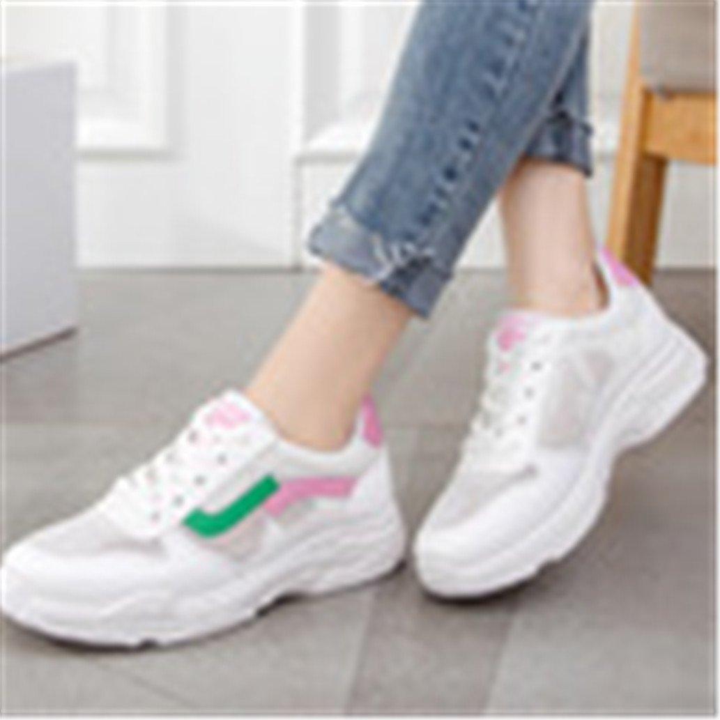 9bf1c66b26f925 ... Btrada Women Air Mesh Wedge Sneakers High Heels Platform Shoes Sneaker  Casual Fashion Shoes Platform for ...