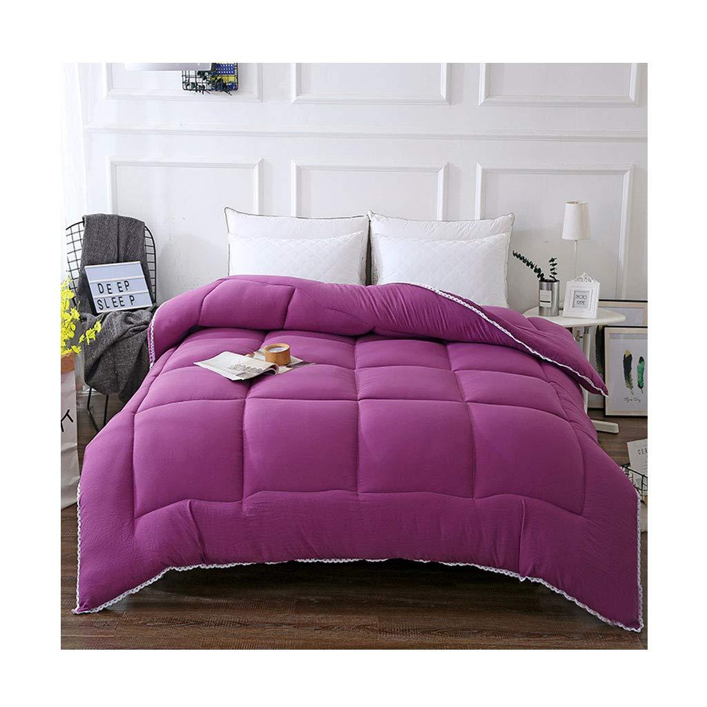 【セール 登場から人気沸騰】 ファッションシンプルな秋と冬を厚くする個々のダブルソフト暖かいキルトコアベッドルームホステルベッドライニング (色 : : Gray, 150×200cm(3kg) サイズ さいず : サイズ 150×200cm(2.5kg)) B07MBRMZGC 150×200cm(3kg)|Purple Purple 150×200cm(3kg), 相馬村:5ddf16ea --- itourtk.ru