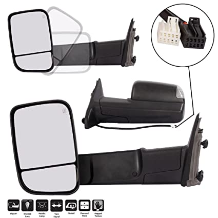 2012 Dodge Ram 1500 Tow Mirrors