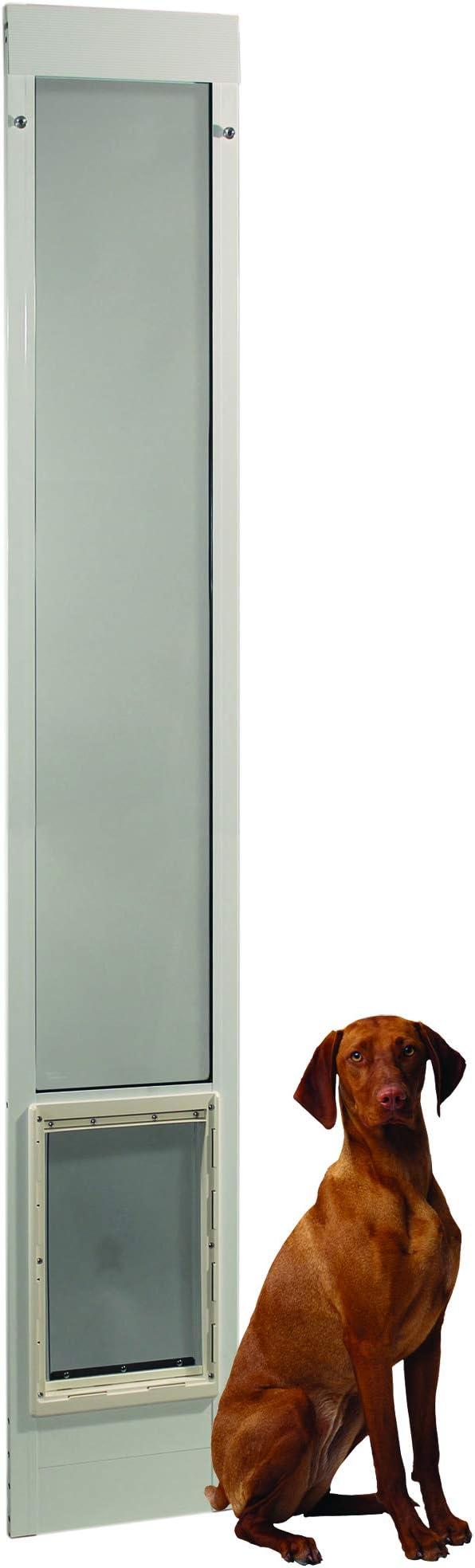 Pet Supplies Dog Doors Flaps Extra Large Dog Pet Door Patio Flap Aluminum Sliding Glass Slider Insert 10 5x15